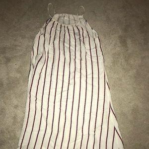 MANGO ruffle dress